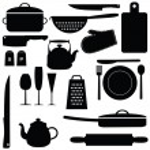 küchengeräte — Stockvektor
