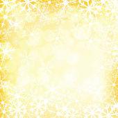 Boże narodzenie złote tło wektor — Wektor stockowy