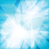 Abstract futuristy crystal background — Stockvektor