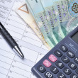 Stock Photo: Polish tax forms