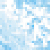 Blue abstrack mosaic background, vector — Stock Vector