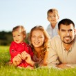 Happy family - Stockfoto