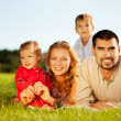 happy family — Stock Photo #19269127