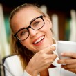 Woman on coffee break — Stockfoto #39241835