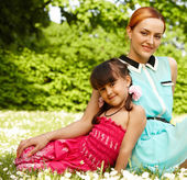 Mother and child — Stock Photo