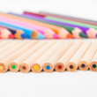 Set of color pencils — Lizenzfreies Foto