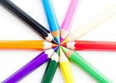 Conjunto de lápices de colores — Foto de Stock