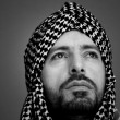 Stock Photo: Arab muslim mwith turban