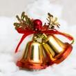 sinos de Natal — Foto Stock
