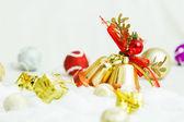 рождественские колокола — Стоковое фото