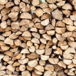 Stack of chopped fire wood — Stock Photo #47096375