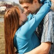 A portrait of a sweet couple in love — Stock Photo #13277032