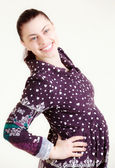 Young female pregnant — Stock Photo
