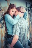 Mladý pár v lásce — Stock fotografie