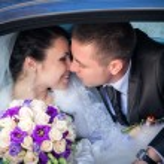 Newlywed couple — Stock Photo #47351917