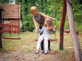 母と子の公園 — ストック写真