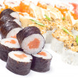 Sushi Japanese dish — Stock Photo