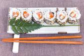 Sushi Japanese dish — Stock Photo