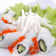 Sushi vegetables — Stock Photo