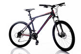 Sports mountain bicycle — Stockfoto