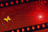 Valentine's Day card — ストック写真