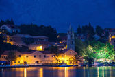 Cavtat by night — Stock Photo