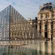 Louvre museum in Paris — Stock Photo