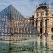 Stock Photo: Louvre museum in Paris