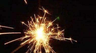 Sparkler — ストックビデオ