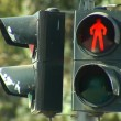 Stock Video: Traffic light for pedestrian