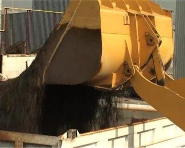 Excavators work — Stock Video
