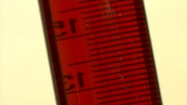 Measuring glass — Stockvideo