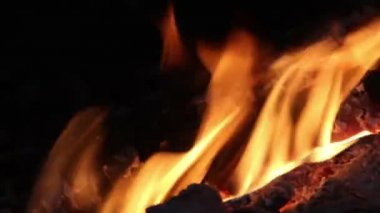 Flames of fire — Stock Video