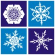 Snowflakes pattern — Stock Vector #7631988