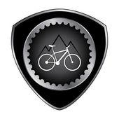 Badge biking — Stock Vector