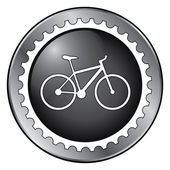 Badge biking — Stock Vector