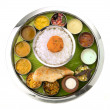 Indian Thali - Stock Photo