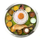 Indian Thali — Stockfoto