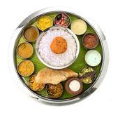 Indian Thali — Stock Photo