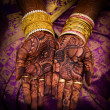 Stock Photo: Mehandi
