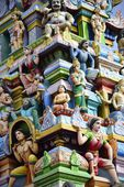 Sculptures in Tiruttani — Stock Photo
