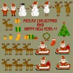 Illustration of Christmas celebration — Stock Vector #14366771