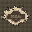 Vintage texture for text — Stock Vector