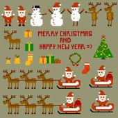 Illustration of Christmas celebration — Stock Vector