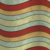 Textura retro con rayas — Vector de stock