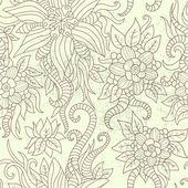 Ročník textury s květinovým vzorem — Stock vektor