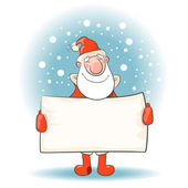 "Glad ""Santa Claus"" — Stock Vector"