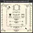 Royalty-Free Stock Vector Image: Vintage ornament set. Vector illustration
