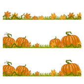 Autumn Background. Vector illustration — Stock Vector