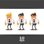 Set di responsabile dell'ufficio. illustrazione vettoriale — Vettoriale Stock